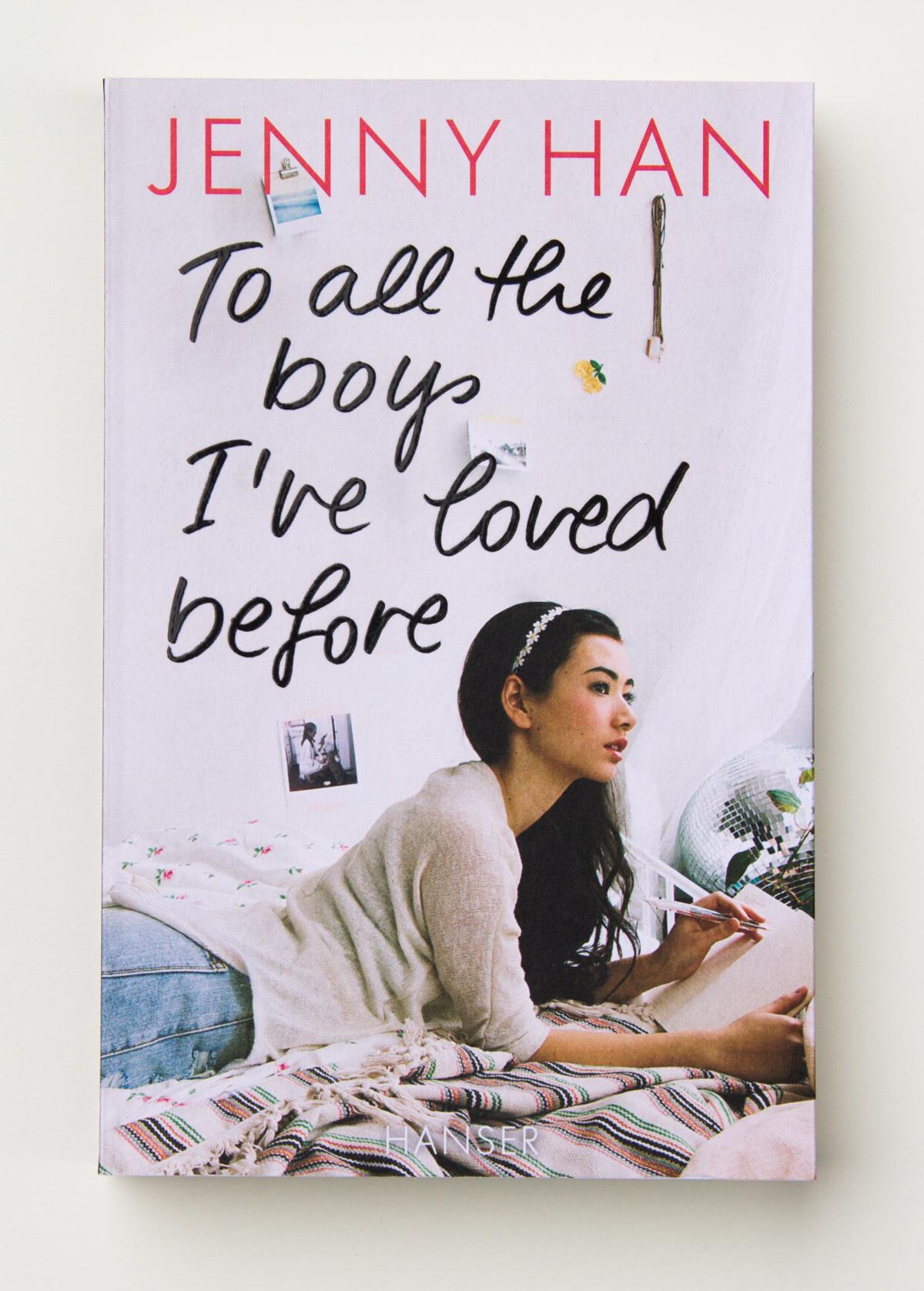 "Titel-Lettering für den Jugendroman ""To All the Boys I Loved Before"" von Jenny Han, Hanser Verlag"