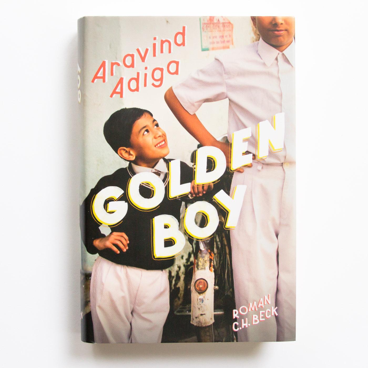 Titel-Lettering für den neuen Roman von Aravind Adiga, Verlag C.H. Beck