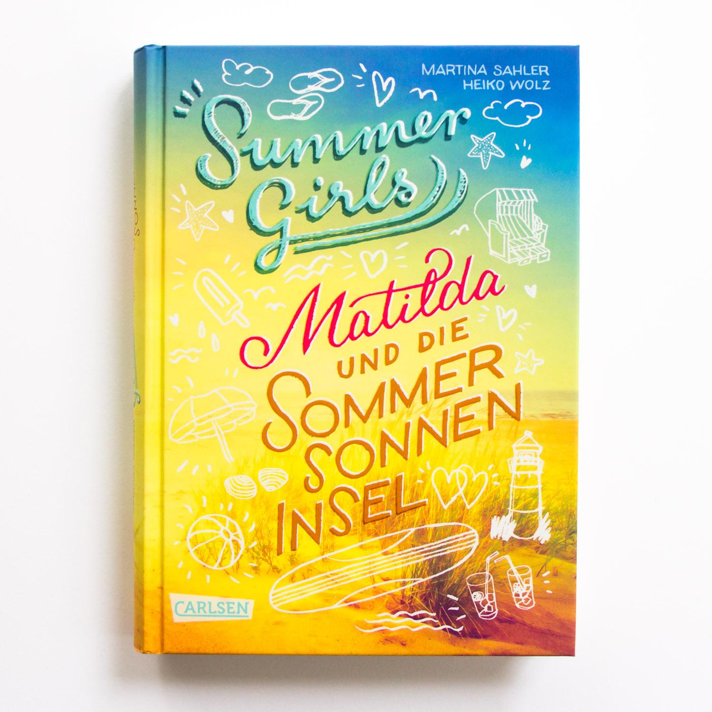 """Cover für die Jugendbuchreihe """"Summer Girls"""", Carlsen Verlag"""