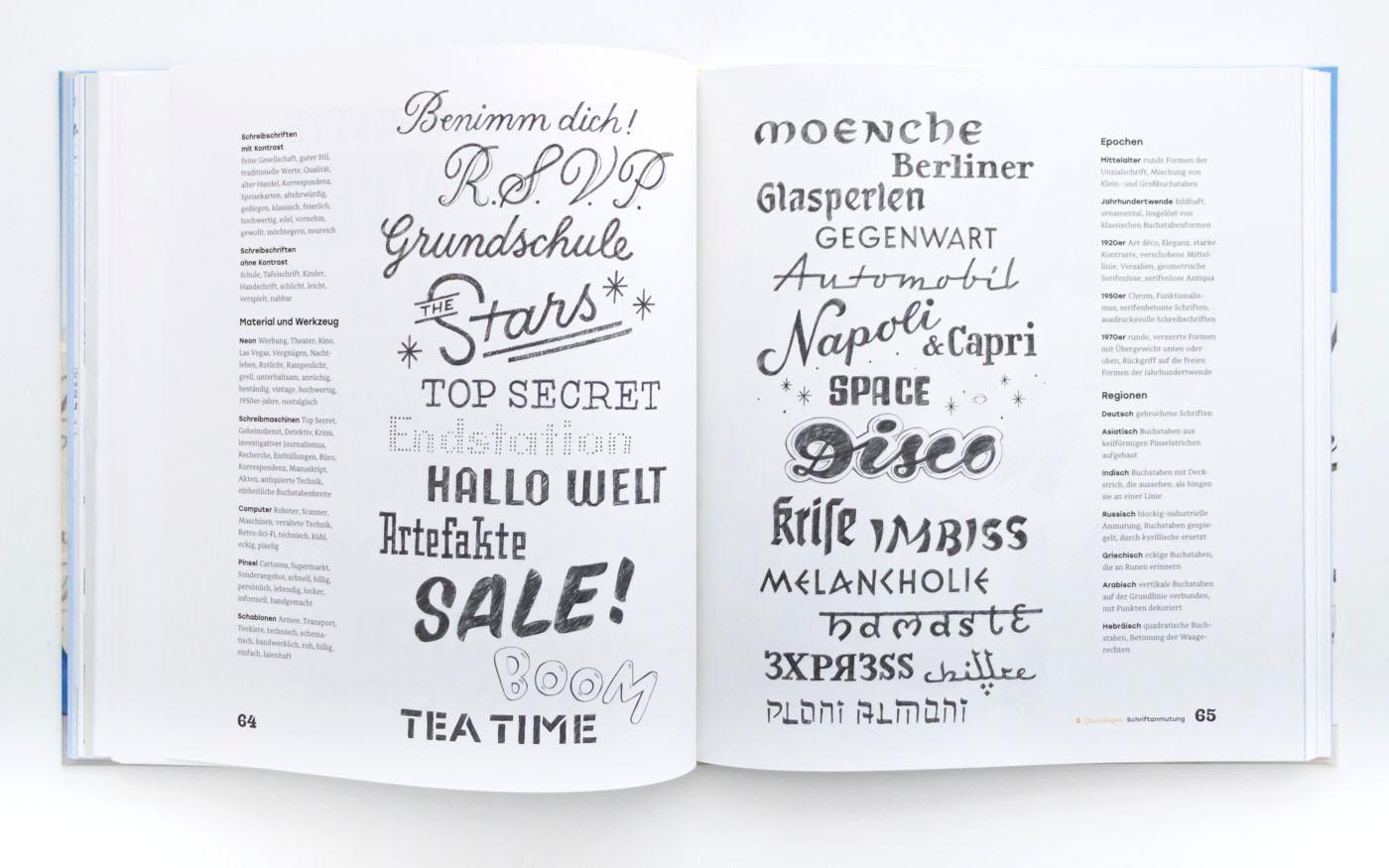 Handbuch Handlettering – Handlettering Buch für Anfänger von Chris Campe, ISBN 978-3-258-60165-6