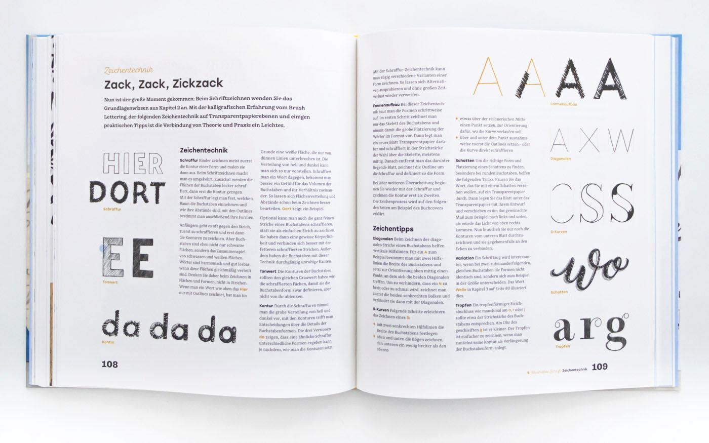 Handbuch Handlettering – Handlettering lernen mit Chris Campe, ISBN 978-3-258-60165-6