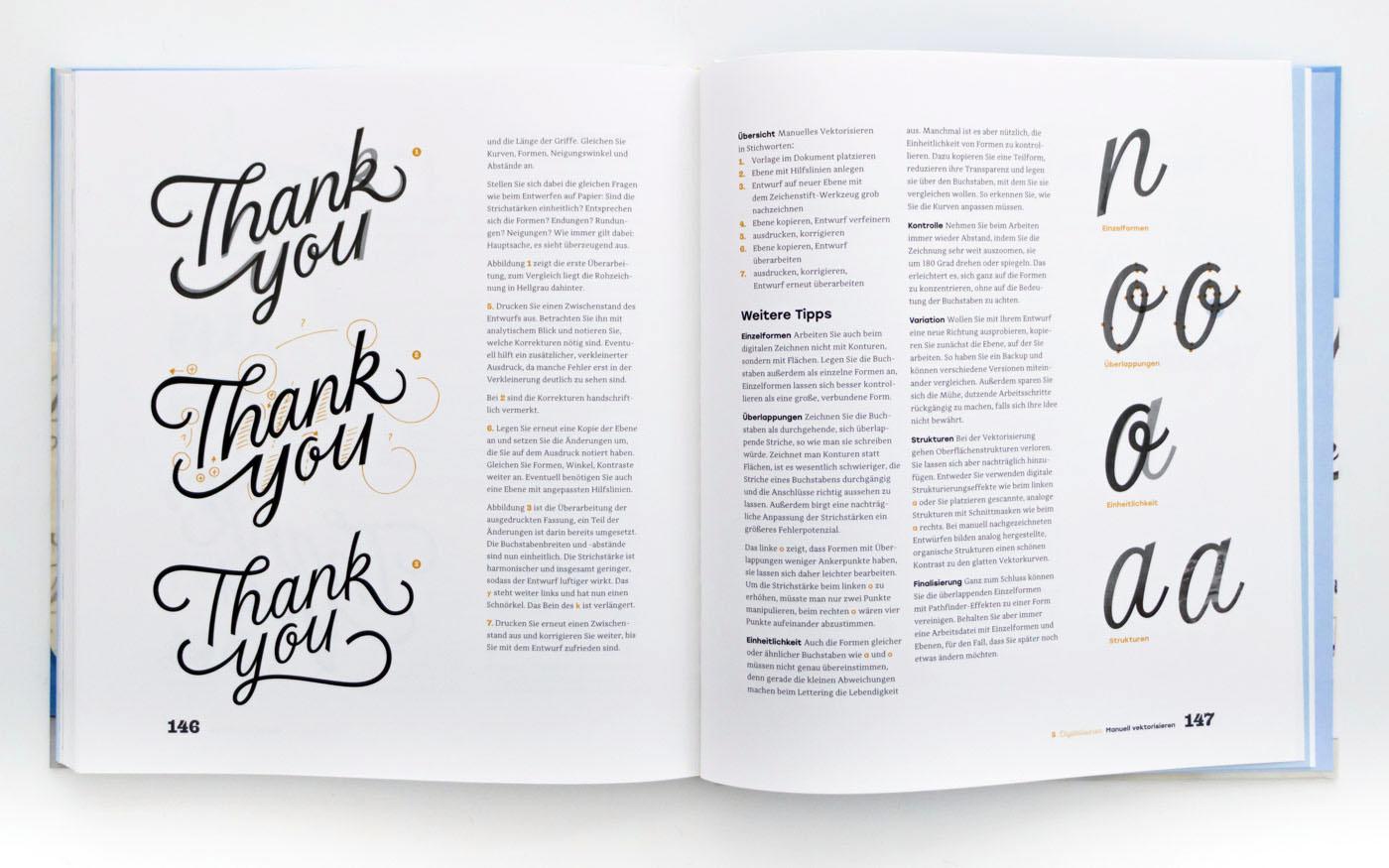Handbuch Handlettering – Handlettering Tipps von Chris Campe, ISBN 978-3-258-60165-6