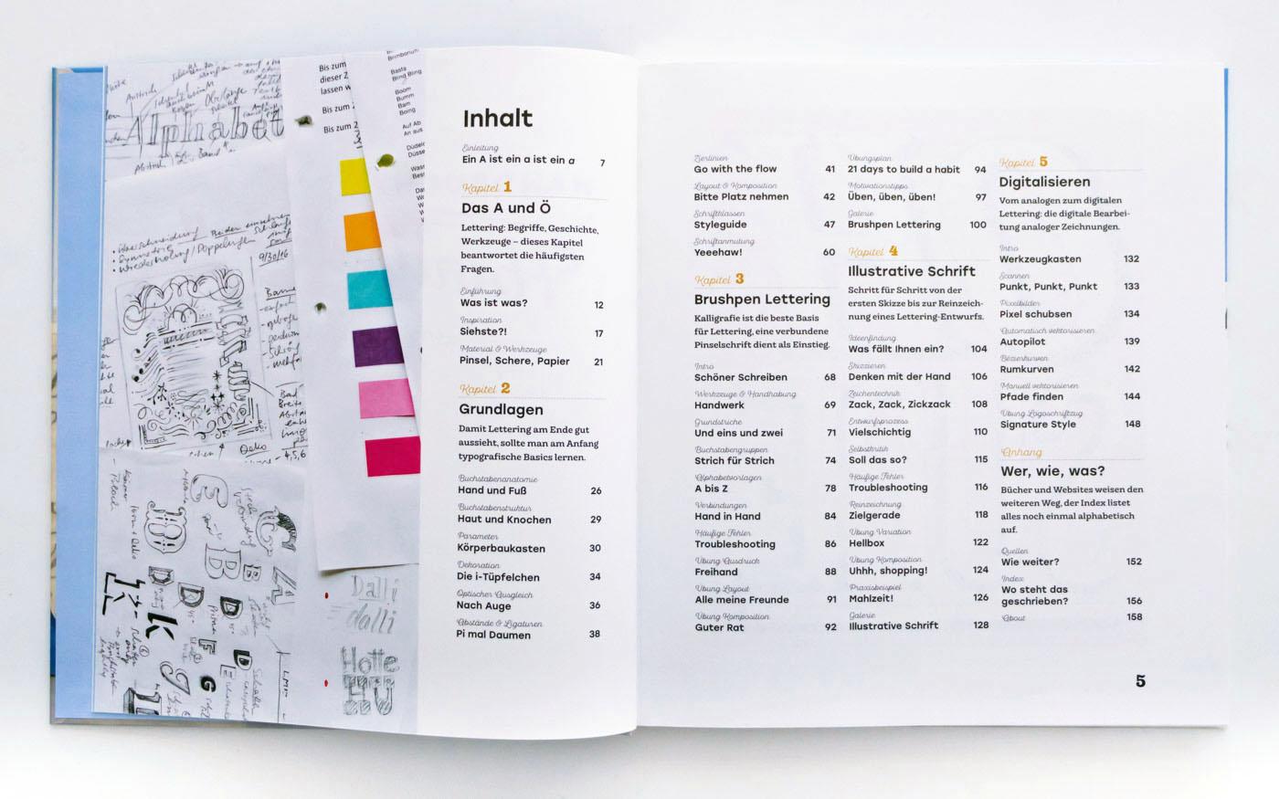 Handbuch Handlettering von Chris Campe, ISBN 978-3-258-60165-6