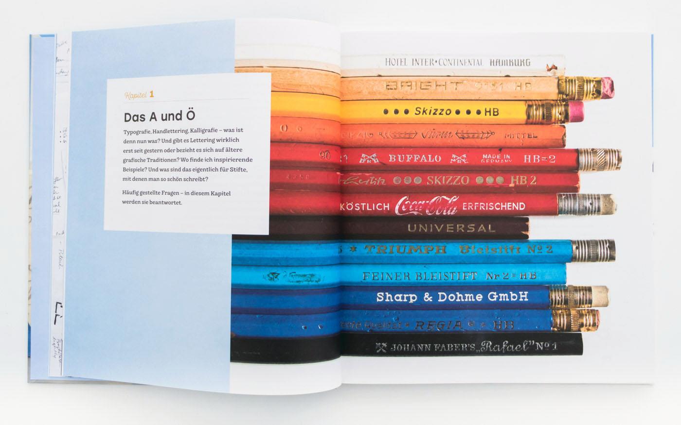 Handbuch Handlettering – Handlettering Buch Empfehlung von Chris Campe, ISBN 978-3-258-60165-6