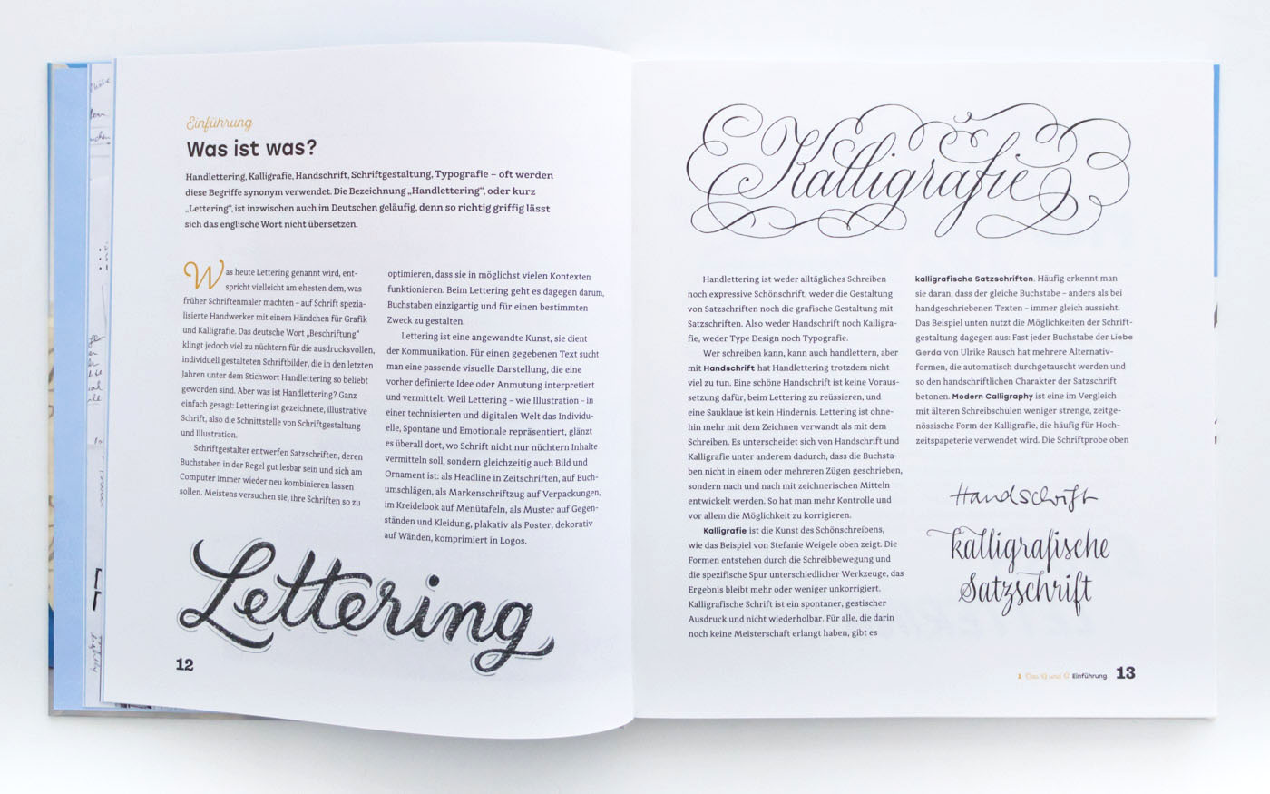 Handbuch Handlettering – Handlettering lernen mit dem Handlettering Buch von Chris Campe, ISBN 978-3-258-60165-6